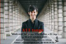 Buchelay – A13 Tango : initiation avec  Vito Munoz les 16 et 17 octobre