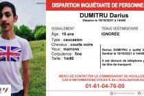Yvelines : appel à témoins après la disparition de Darius Dumitru, 15 ans