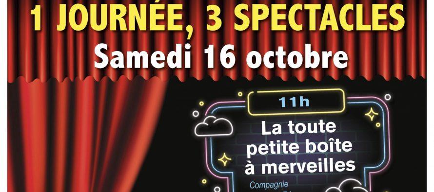 Buchelay : trois spectacles gratuits le 16 octobre au centre des arts et loisirs